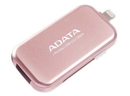 Доступны накопители Adata i-Memory UE710 Rose Gold объемом 32, 64 и 128 ГБ