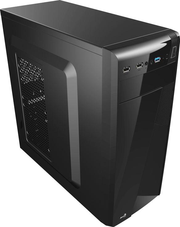 Компьютерный корпус Aerocool CS-1101 рассчитан на платы типоразмера ATX