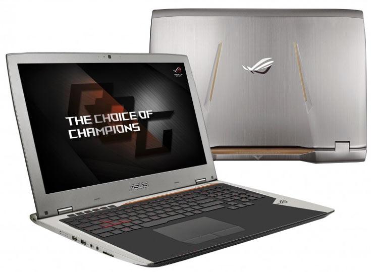 Начат прием предварительных заказов на ноутбук Asus ROG GX700 с жидкостным охлаждением