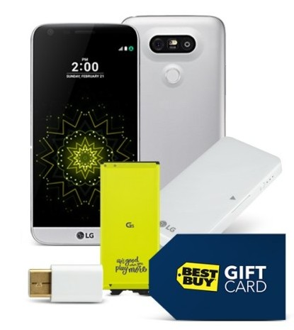 Продажи Android-смартфонаLG G5 стартуют 31марта