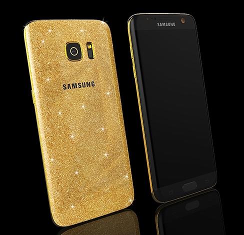 золотой телефон самсунг фото