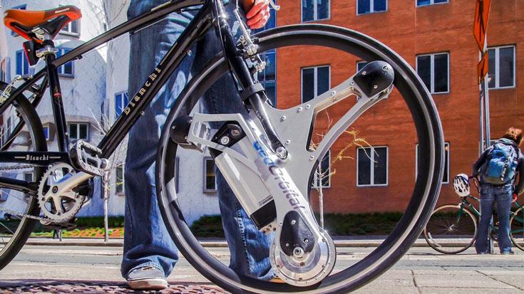 На выпуск моторизованного колеса GeoOrbital собрано более $300000