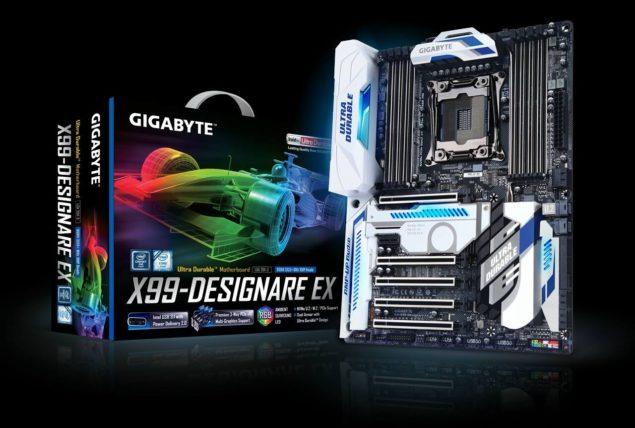Платы Gigabyte X99 Designare EX, X99 Ultra Gaming и X99 SLI Phoenix будут представлены в начале июня
