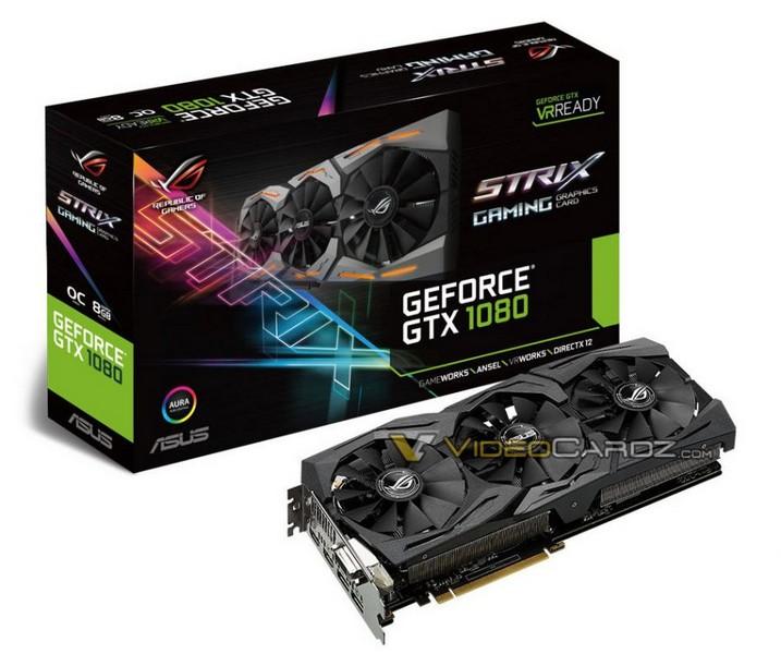 ��������� ����������� ������������� ��������� GeForce GTX 1080