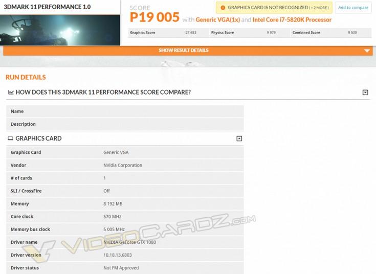���������� GeForce GTX 1080 �������������� � 3DMark