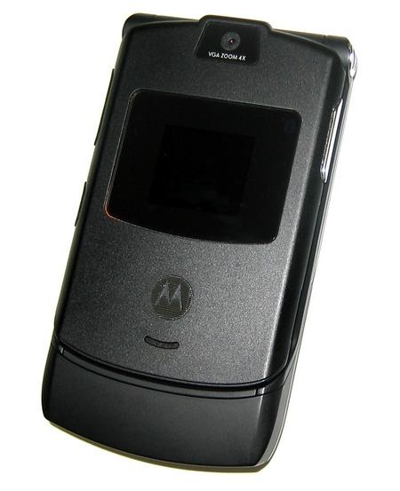 Motorola Razr V3 ����� ��������� � ���� ���������