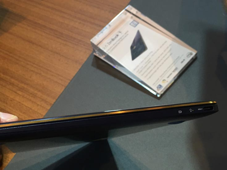 ультратонкий ноутбук Asus ZenBook 3 на Computex 2016