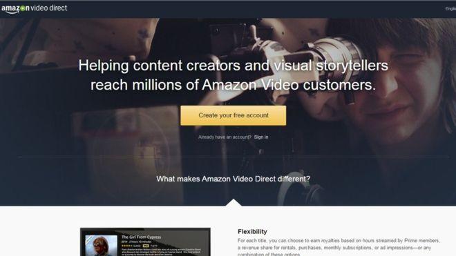 Запущен видеосервис Amazon Video Direct