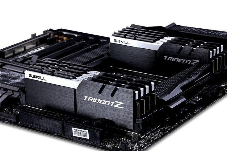 G.Skill предлагает пять новых вариантов цветового оформления модулей памяти Trident Z DDR4
