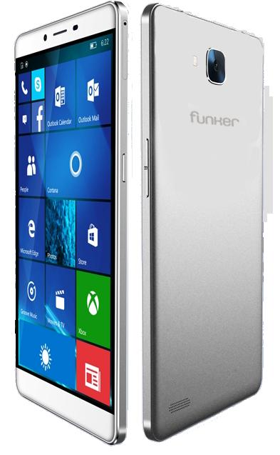 Шестидюймовый смартфон Funker W6.0 Pro 2 получил SoC Snapdragon 617, Windows 10 и поддержку Continuum