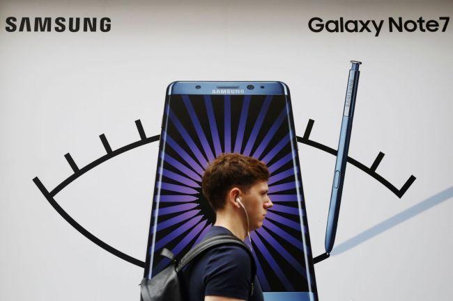 Самсунг расскажет почему Galaxy Note 7 взрывались