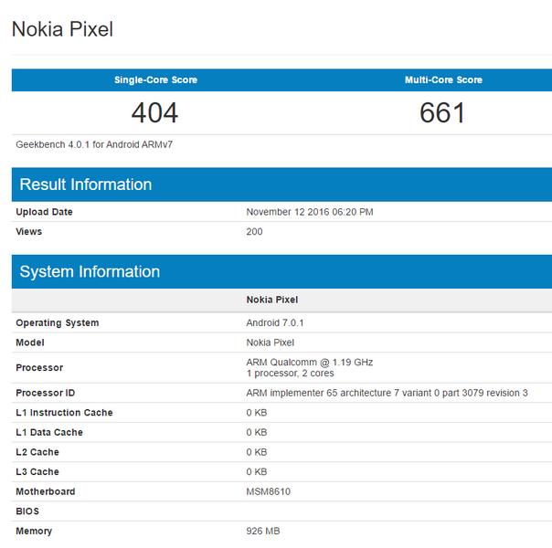 Nokia Pixel будет очень бюджетным смартфоном