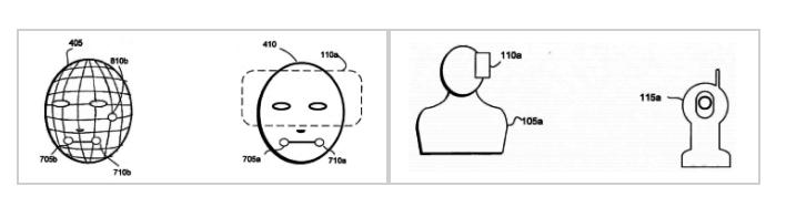 Samsung патентует технологию отслеживания лица пользователя