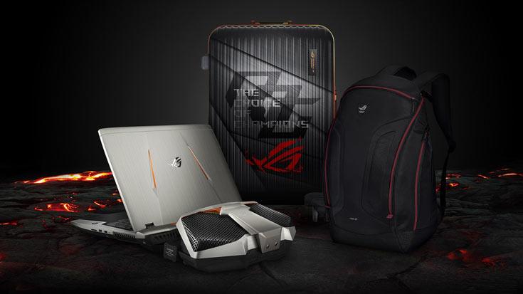 Ноутбук Asus ROG GX800 продается в наборе счемоданом