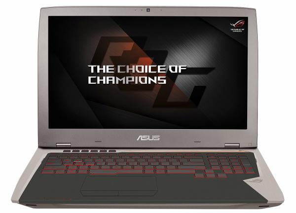 Игровой ноутбук ASUS ROG G701VI получил экран сповышенной частотой обновления