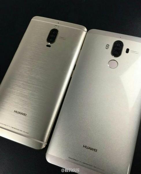Смартфон Huawei Mate 9 Pro похож на аппараты Samsung