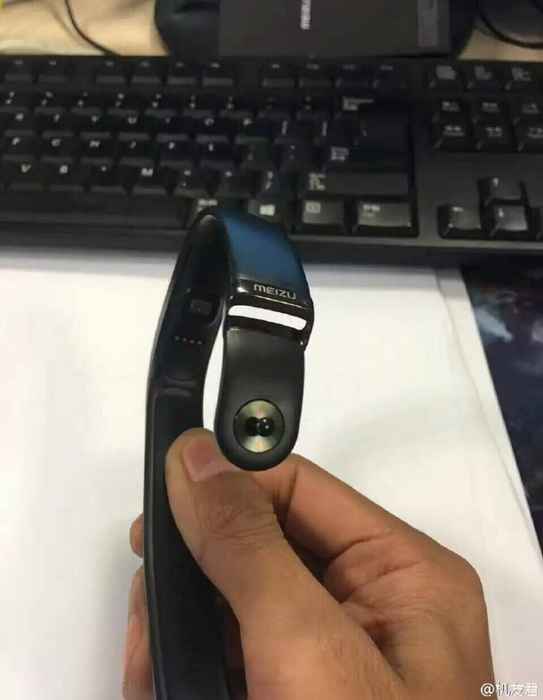 Старшая модель браслета Meizu H1 будет оборудована прозрачным гибким экраном