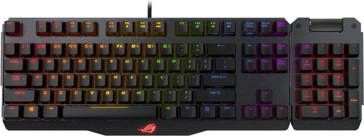 В новых клавиатурах используются переключатели Cherry MX RGB LED