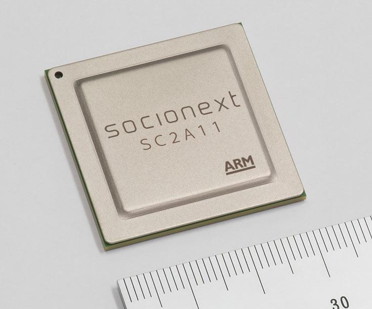 Однокристальная система Socionext SC2A11A предназначена для серверов
