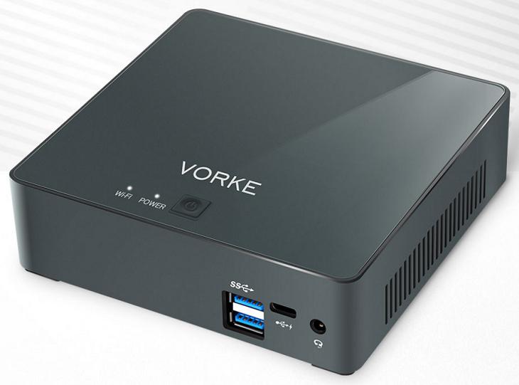 Мини-ПК Vorke V2 по цене может конкурировать с баребонами на базе аналогичных ЦП