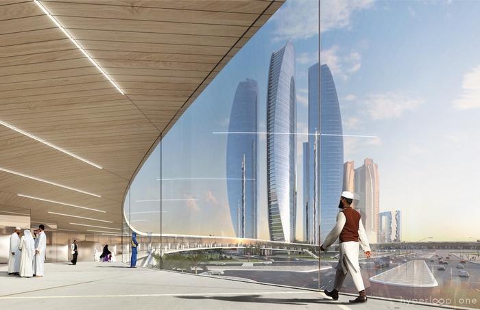 Hyperloop One представила концепт скоростной транспортной системы в ОАЭ