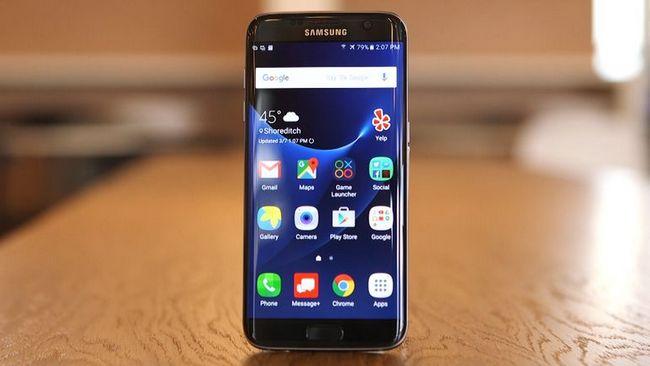 Смартфон Samsung Galaxy S7 Edge является самым безопасным в плане излучения среди популярных смартфонов