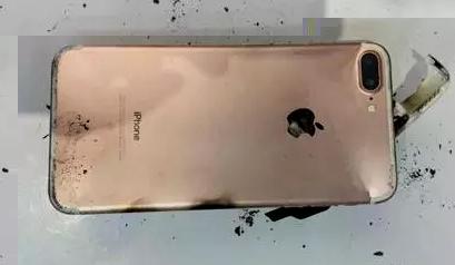 IPhone 7 Plus взорвался после падения