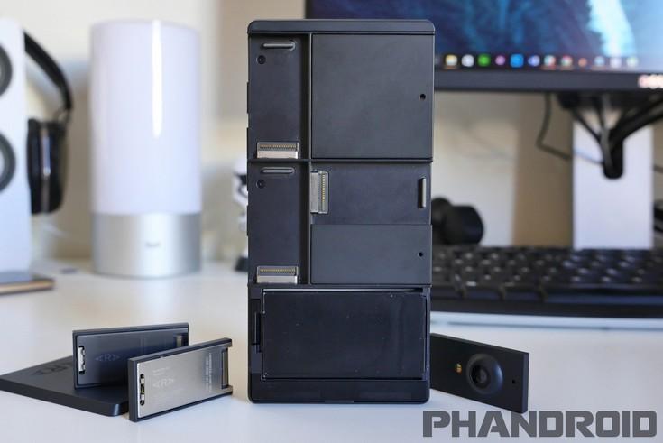 Отмененный модульный смартфон Google Project Ara показали на«живых» фото