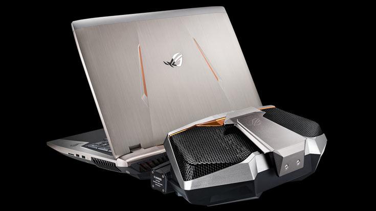 Asus ROG GX800— самый мощнейший ноутбук вмире