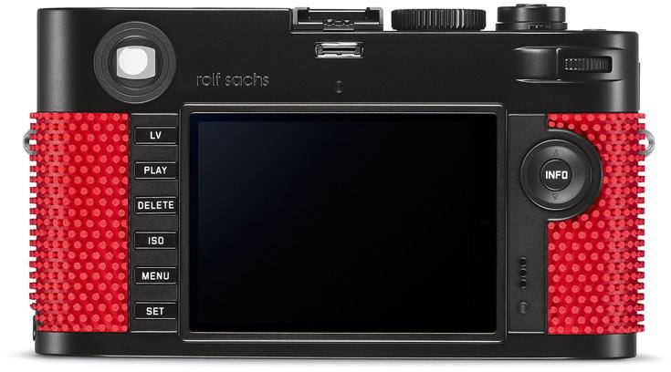 Leica выпустит вариант камеры M-P, оформленный Рольфом Саксом