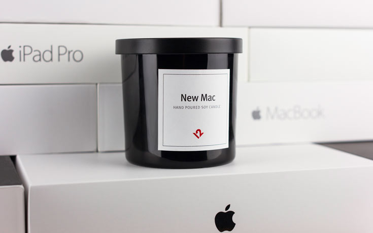 Свеча с запахом новейшей техники Apple создана вСША