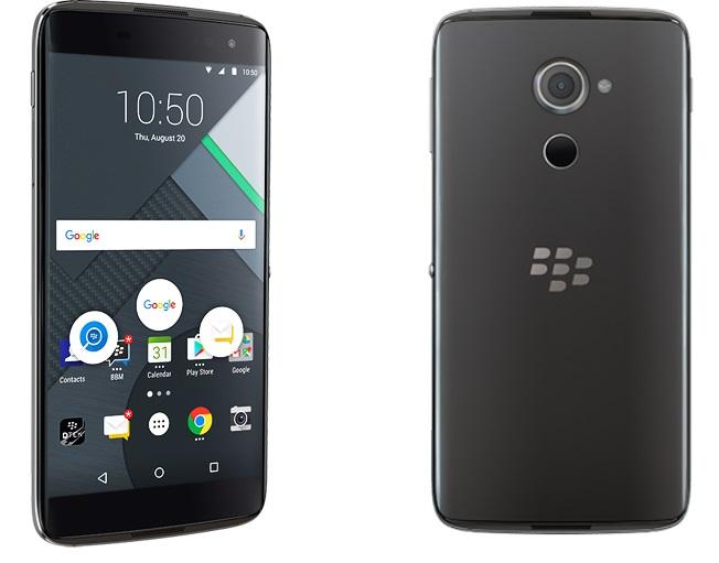 Смартфон BlackBerry DTEK60 представлен официально