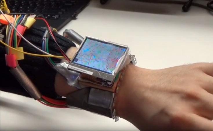 Smart-часы WristWhirl умеют распознавать жесты