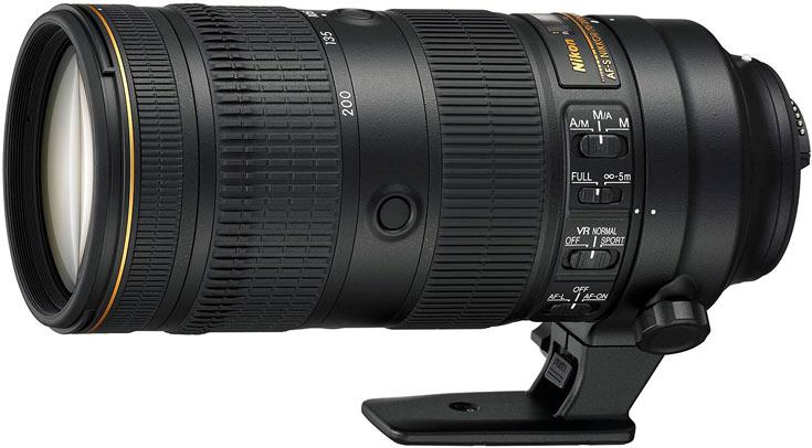 Рекомендованная цена объектива Nikon AF-S Nikkor 70-200 F2.8E FL ED VR равна $2800