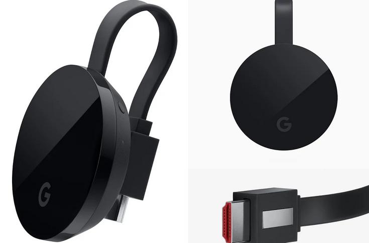 Медиаадаптер Chromecast Ultra стоит $70