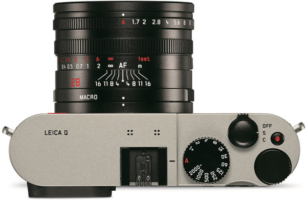 Продажи Leica Q Titanium начнутся в середине ноября по цене 3800 фунтов стерлингов