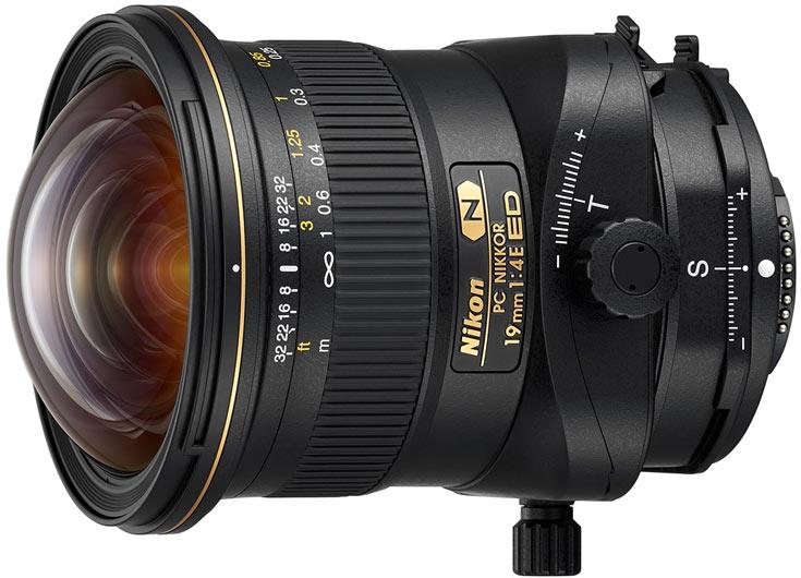 Продажи объектива Nikon PC Nikkor 19mm f/4E ED начнутся в ноябре