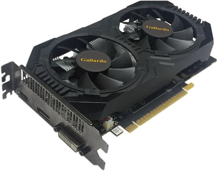 Карты Manli GeForce GTX 1050Ti Gallardo и GTX 1050 Gallardo получили оригинальный кулер