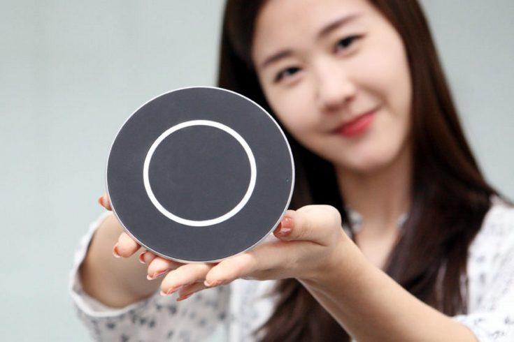 LGпредставила 15-ваттную беспроводную зарядную станцию Quick Wireless Charging Pad