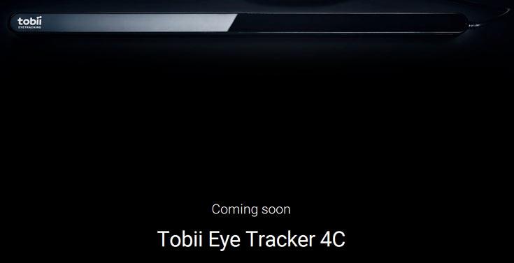 Прием предварительных заказов на Tobii Eye Tracker 4C начнется 25 октября