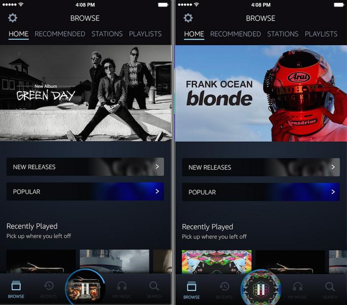 Компания Amazon объявила озапуске музыкального потокового сервиса