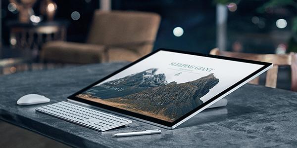 Microsoft выпустила 28-дюймовый моноблок