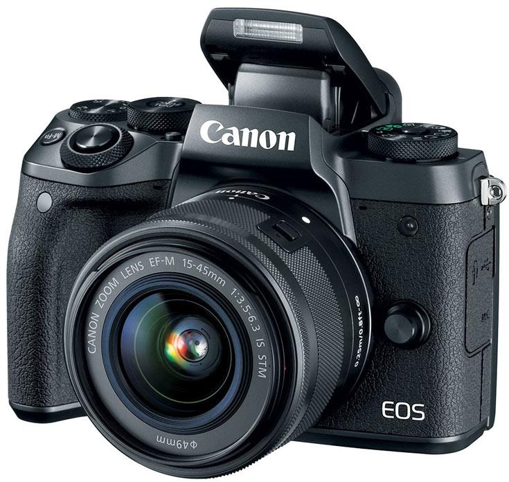 Canon представила флагманскую беззеркалку EOS M5