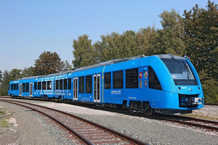 Alstom представила водородный поезд