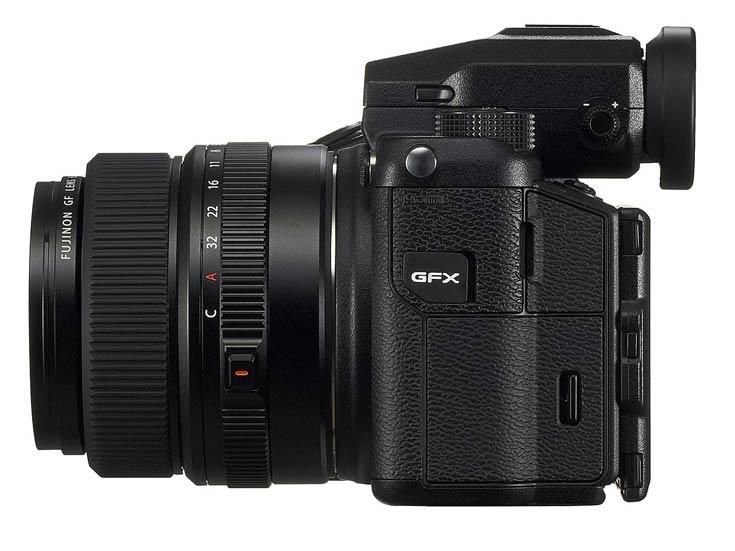 Новую фотосистему откроет камера Fujifilm GFX 50S