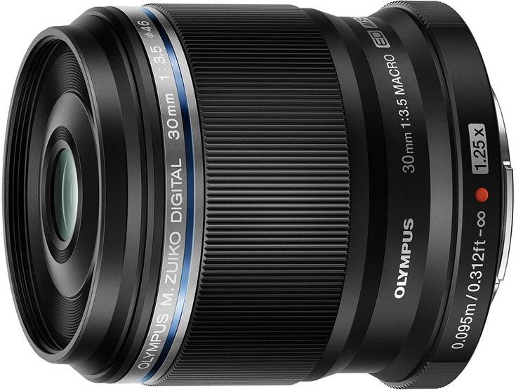 Объектив Olympus M.Zuiko Digital ED 30mm f3.5 Macro обеспечивает увеличение 1,25х