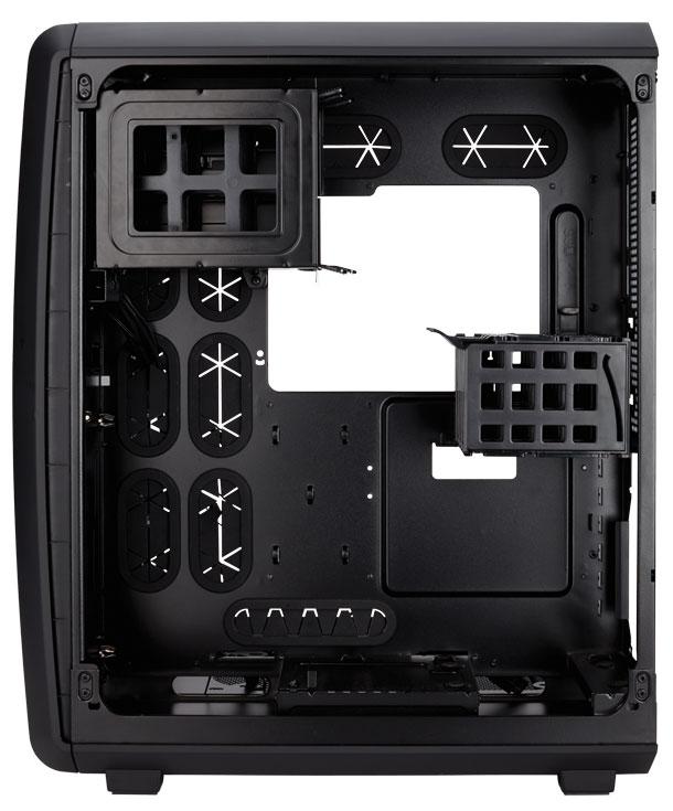 На передней панели Corsair Carbide Air 740 есть два разъема USB 3.0