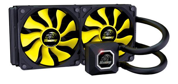 СВО Akasa Venom A10 и Venom A20 совместимы с современными процессорами Intel и AMD для настольных систем