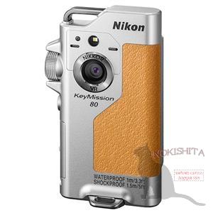 Камера Nikon KeyMission 80 оснащена сенсорным дисплеем размером 1,1 дюйма
