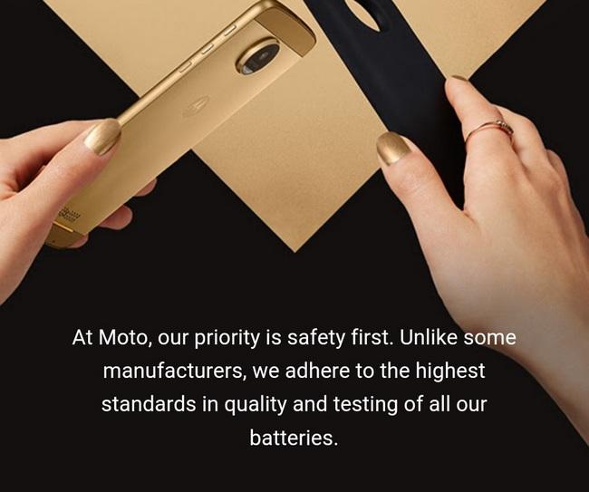 Lenovo использовала скандал вокруг Samsung Galaxy Note7, рекламируя свой смартфон Moto Z Droid